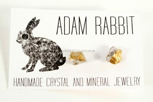 Adam Rabbit Quartz Earrings