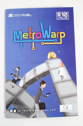 Metro Warp Downloadable Game
