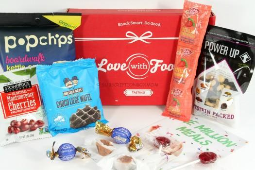 Love with Food February 2016 Tasting Box Review