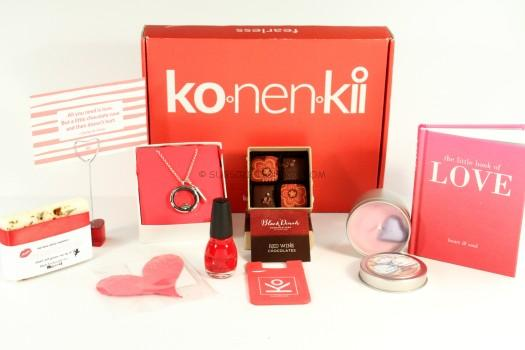 Konenkii Valentine's Day Box Review