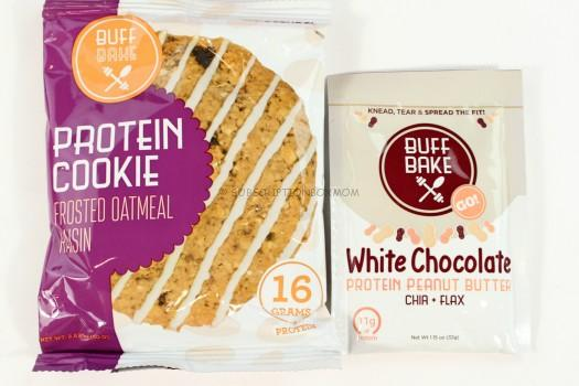 Buff Bake protein Cookie (Frosted Oatmeal Raisin)