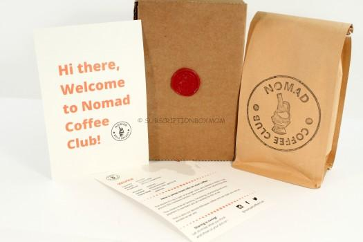 Nomad Coffee Club February 2016 Review