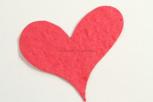 Seeded Valentine Card:
