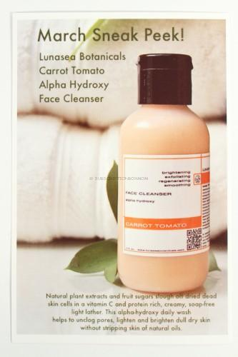Lunasea Botanicals Carrot Tomato Alpha Hydroxy Face Cleanser