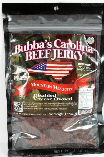 Bubba's Carolina Beef Jerky (Mountain Mesquite)