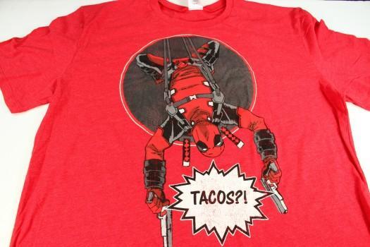 Exclusive Deadpool Tacos T-Shirt