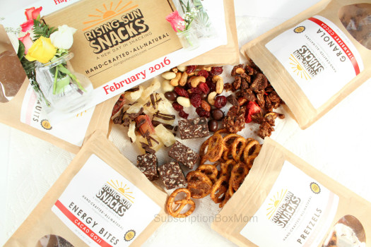 Rising Sun Snacks February 2016 Review
