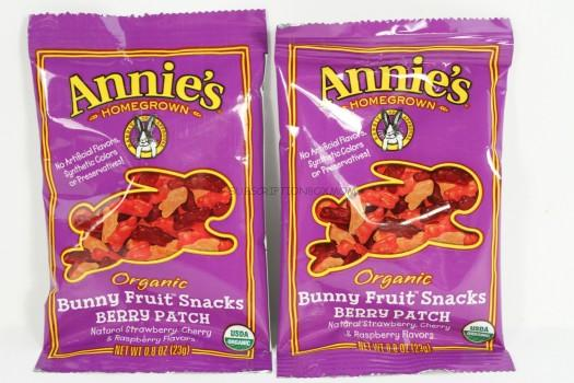 Annie's Homegrown Bunny Fruit Snacks in Berry Patch