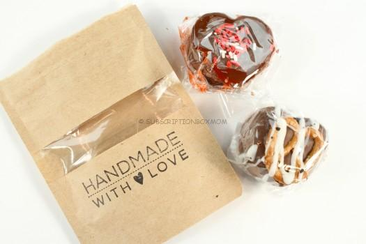 Poisoned Apples Red Velvet Caramels/ Salted Pretzel Caramels