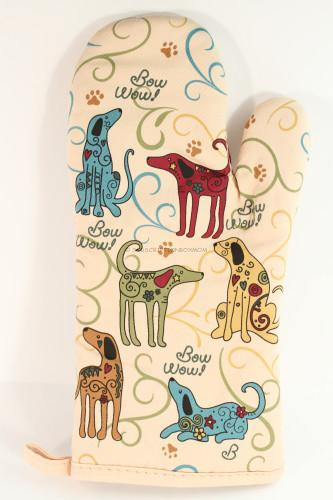 The Animal Rescue Site Festival Dog Oven Mitt