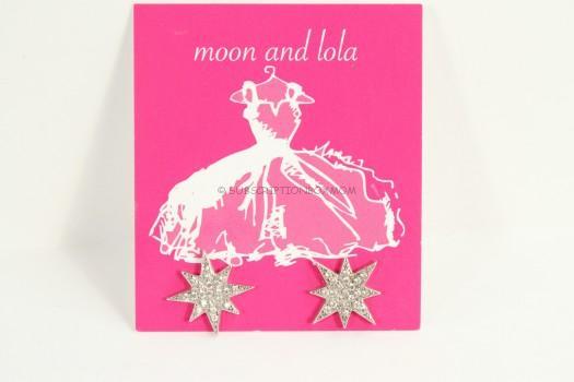 Moon & Lola Starlett Studs in Silver
