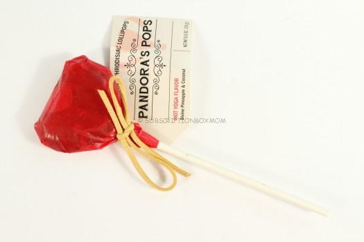 Aphrodisiac Hot Yoga Lollipop from Pandora's Pops