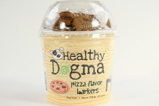 Healthy Dogma Pizza Flavor Barkers