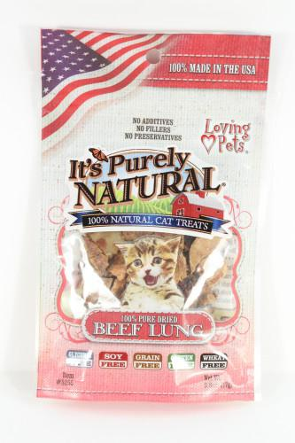 Loving Pets' Freeze Fried Beef Lung Treats