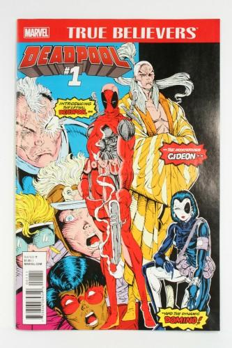 Deadpool Issue #1 True Believers