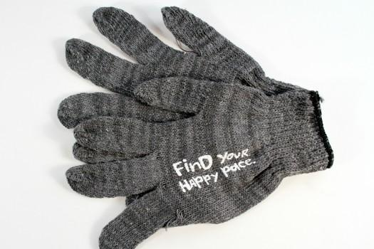 Find Your Happy Pace Gloves