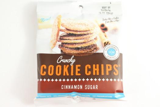Hannahmax Baking Crunchy Cookie Chips in Cinnamon Sugar