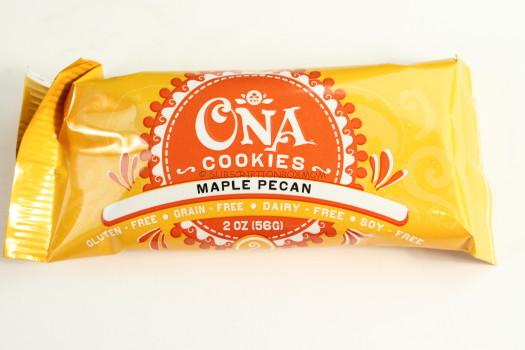 Ona Cookies Maple Pecan