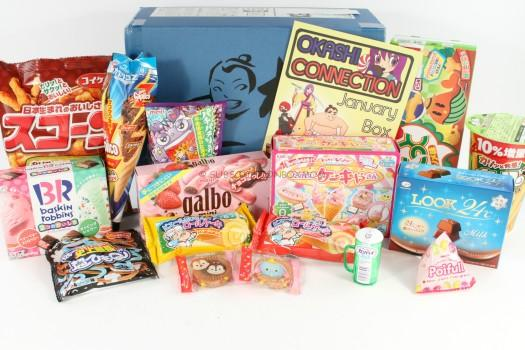 Okashi Connection Sumo Box January 2016 Review