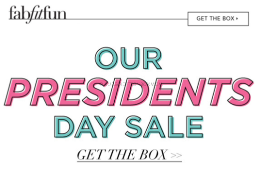 FabFitFun Welcome Box Coupons
