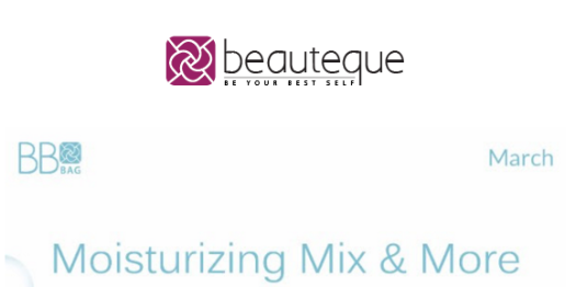Beauteque Monthly March 2016 Spoilers