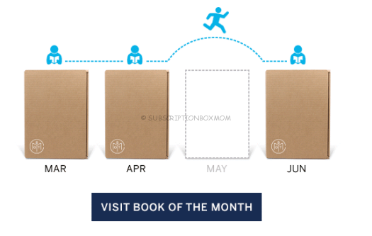 Book of the Month Adds Skip Option