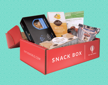 Try the World Snack Box Now Available