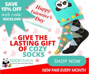 Sock Panda February 2016 Coupon