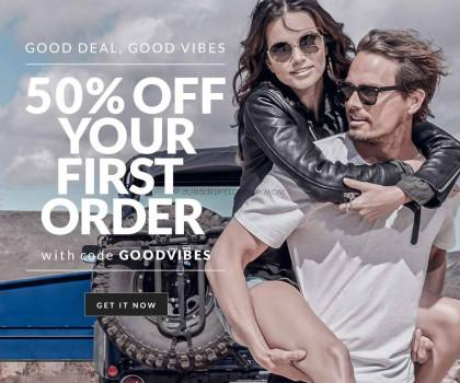 Five Four Club 50% Coupon or Sunglasses/Subscription Coupon
