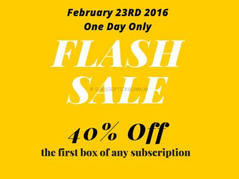 Bramble Box One Day Sale - Save 40% Today Only