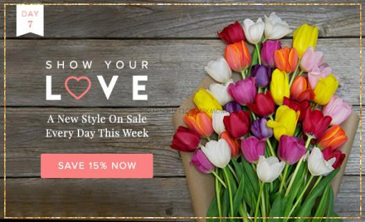 The Bouqs Coupon - 15% Off