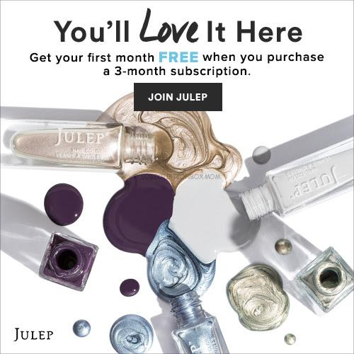 Julep First Month Free and Free Oscar Party Set