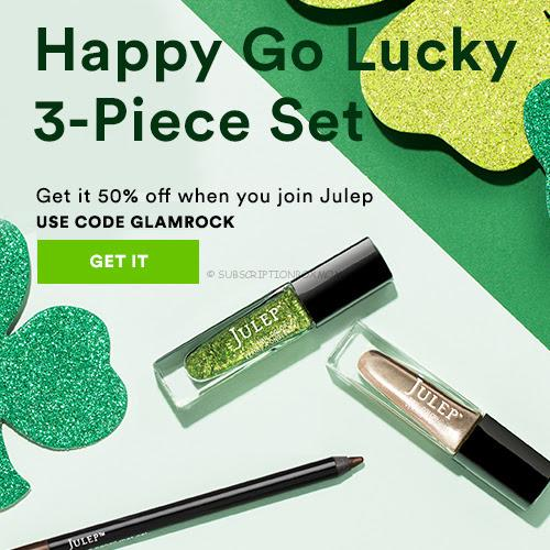 Free Julep St. Patrick's Day Welcome Box w/Subscription