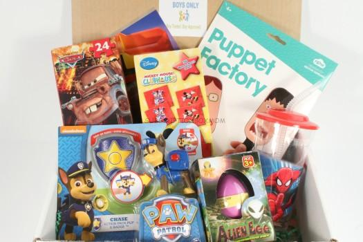 Boys Only Monthly Subscription Box March 2016 Review