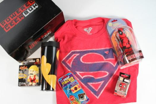 Powered Geek Box February 2016 Review