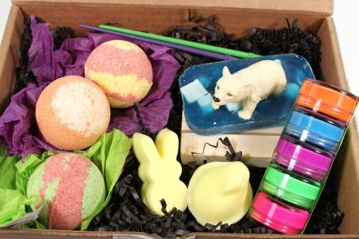 Sudz & Scrubz March 2016 Kids SudzBox Review