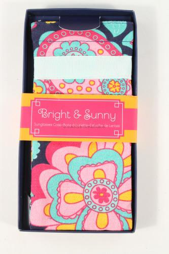 Bright & Sunny Sunglass Case