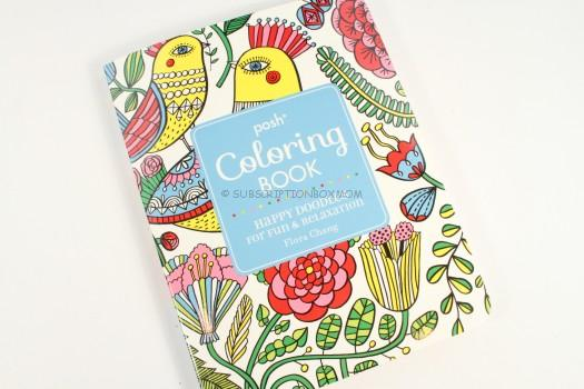 Posh Adult Coloring Book Happy Doodles For Fun Relaxation Flora Chang 1030 This Is A Beautiful Bound And Would Look Great On