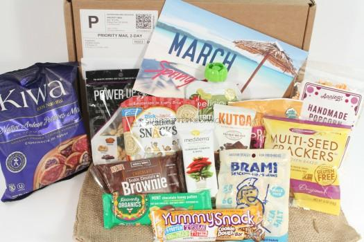 SnackSack March 2016 Review