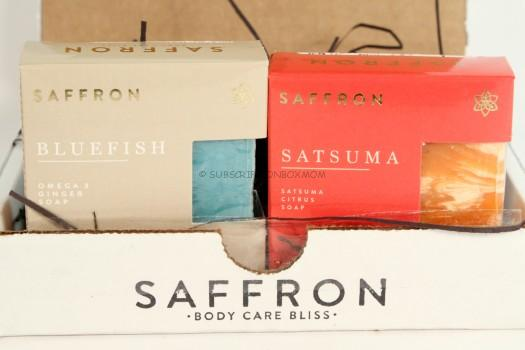 Saffron February 2016 Soap Subscription Box Review