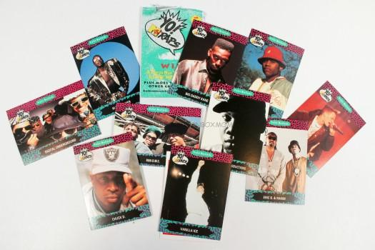 Original Yo! MTV Raps Cards