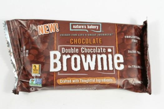 Nature's Bakery Chocolate Brownie