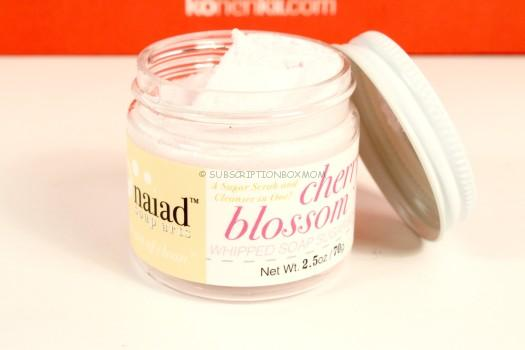 Naiad Cherry Blossom Whipped Soap Sugar Scrub