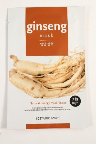 Botanic Farm Natural Energy Ginseng Mask