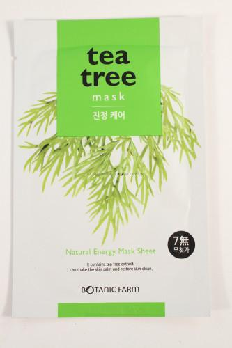 Botanic Farm Natural Energy Tea Tree Mask