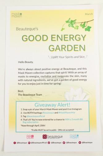 Good Energy Garden