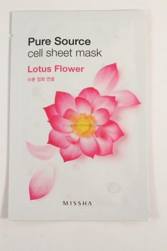 Missha Pure Source Lotus Flower Mask