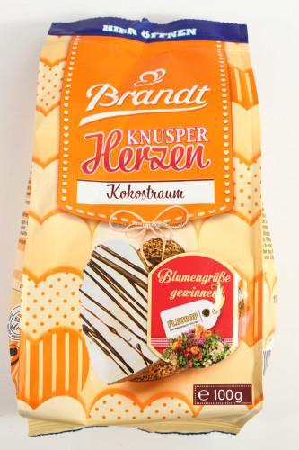 Brandt Knusper Herzen Kokostraum