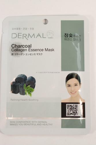 Dermel Charcoal Collagen Essence Mask