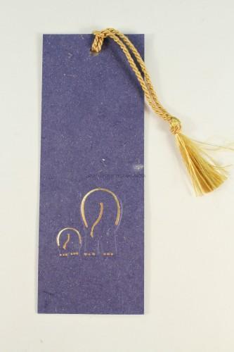 Elephant Poo Bookmark